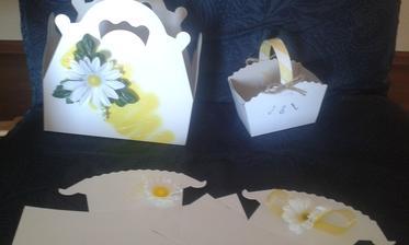 krabičky a košíky na koláčky :)