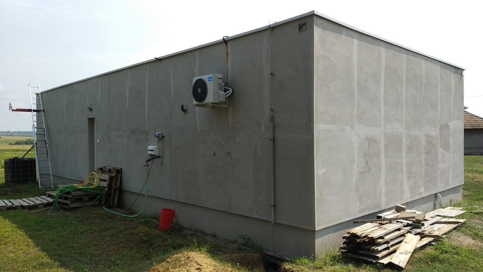 Kontajnerový dom po stieťkovaní - Obrázok č. 4
