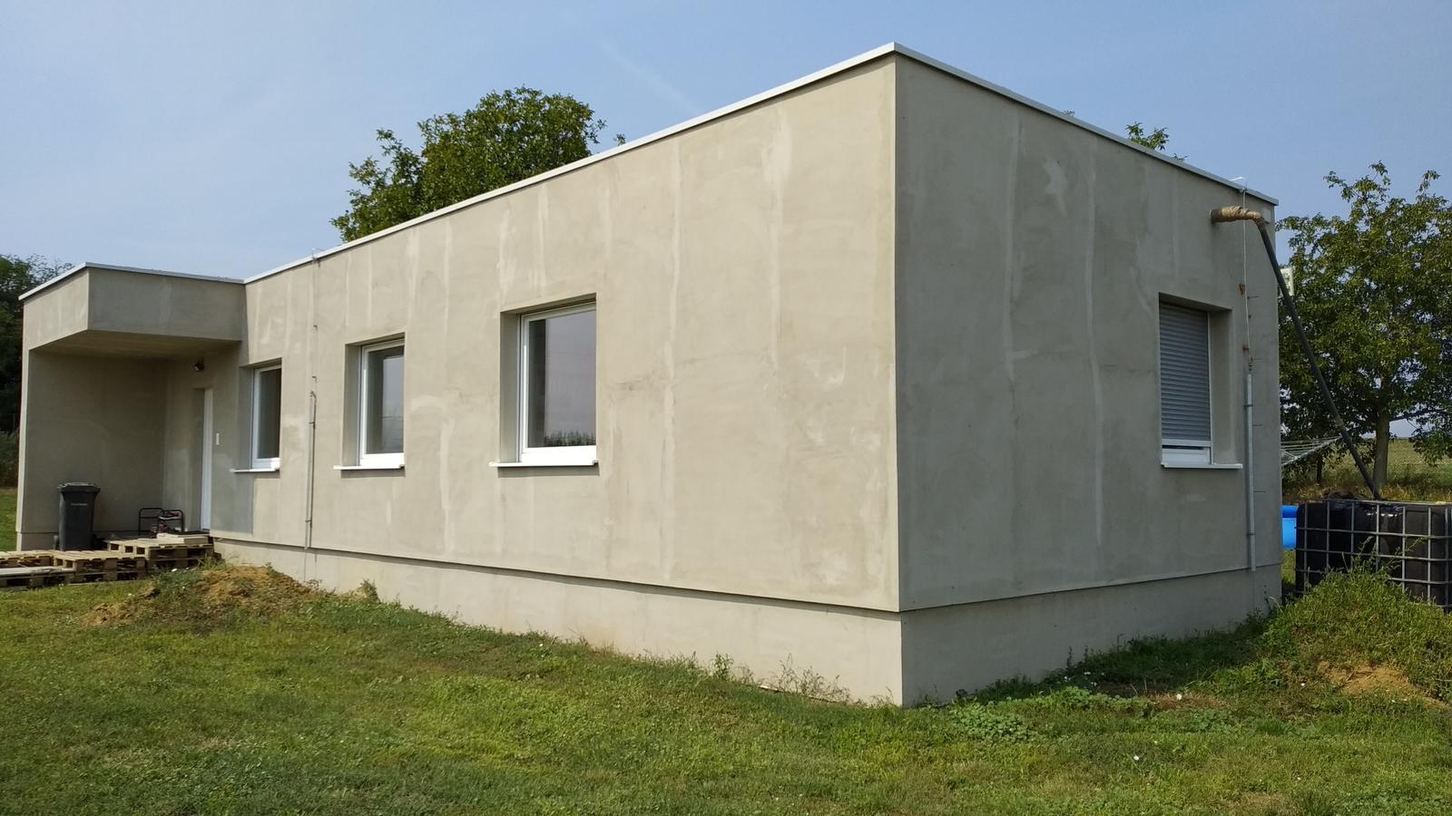 Kontajnerový dom po stieťkovaní - Obrázok č. 2