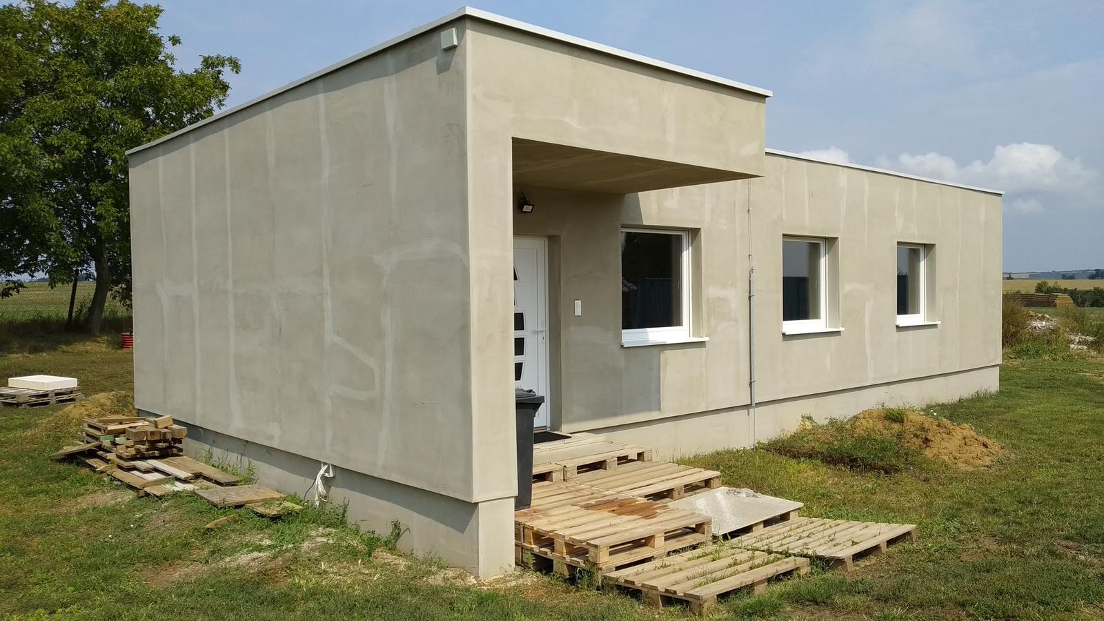 Kontajnerový dom po stieťkovaní - Obrázok č. 1