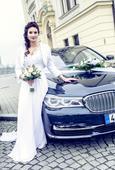 Svatební šaty, vel. 34-38 podle obvodu hrudníku, 36