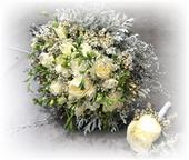 Svadobná kytica Winter,