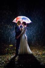 Počasí, kterého se snad všechny nevěsty bojí, má i výhody :-)