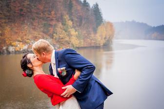 Podzimní řeka Vltava