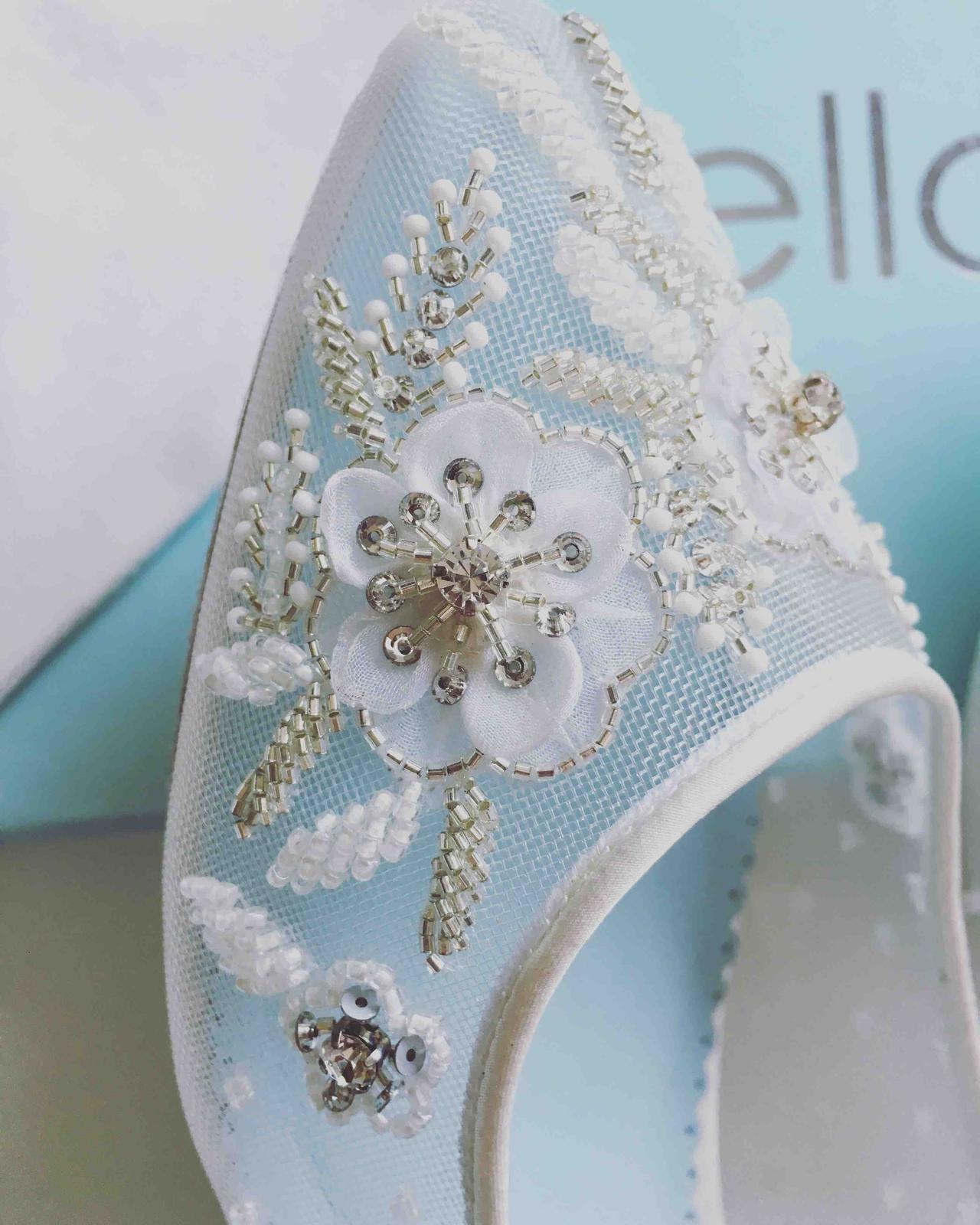 Moje svadobné topánky / balerínky - Obrázok č. 1