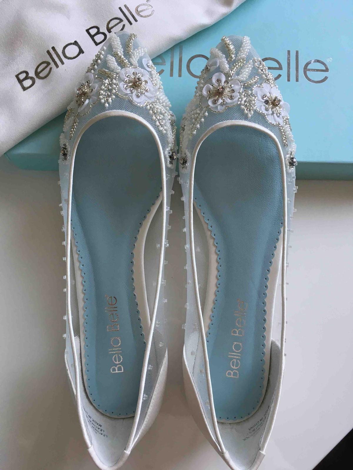 Moje svadobné topánky / balerínky - Obrázok č. 4