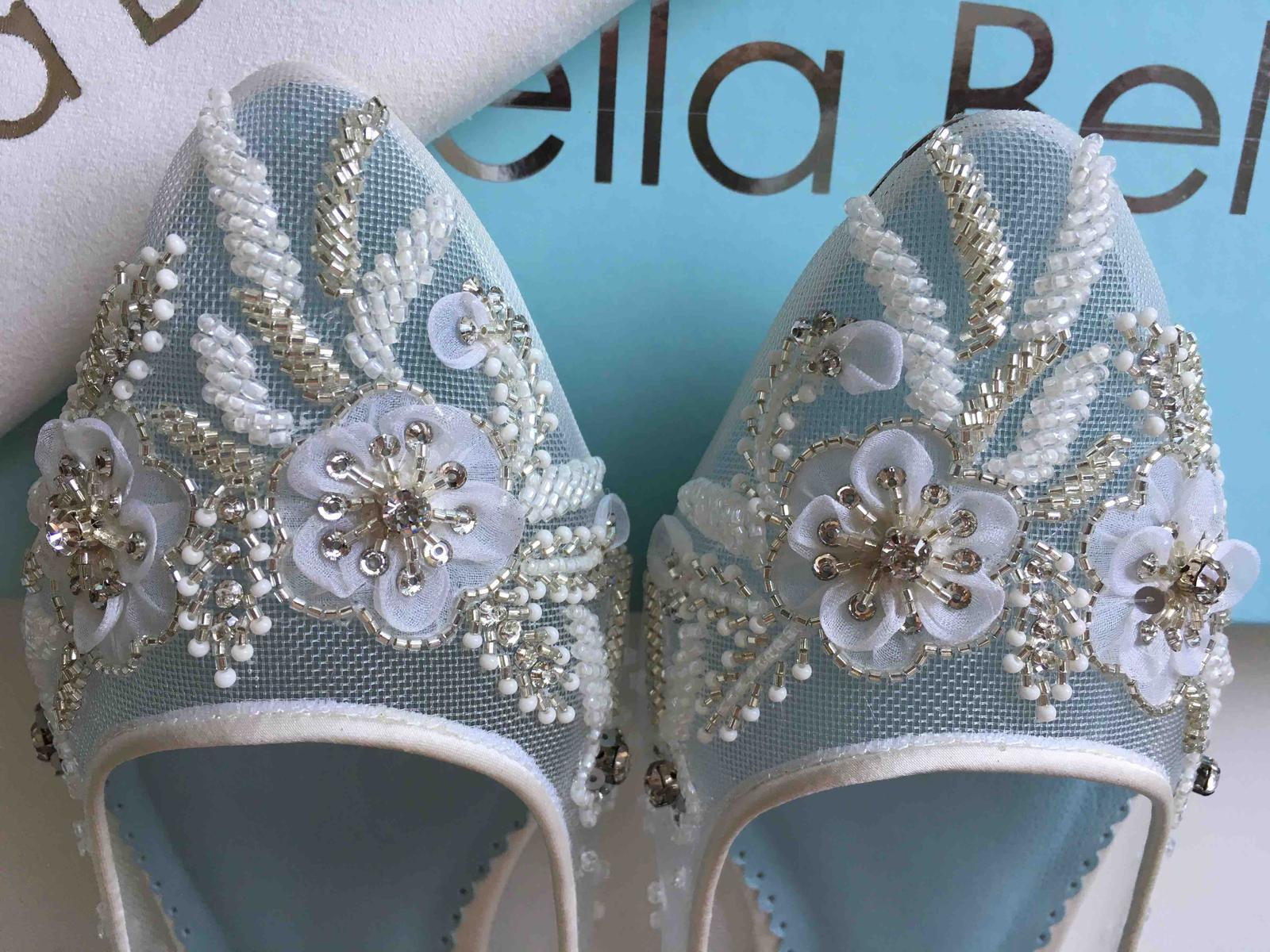 Moje svadobné topánky / balerínky - Obrázok č. 5