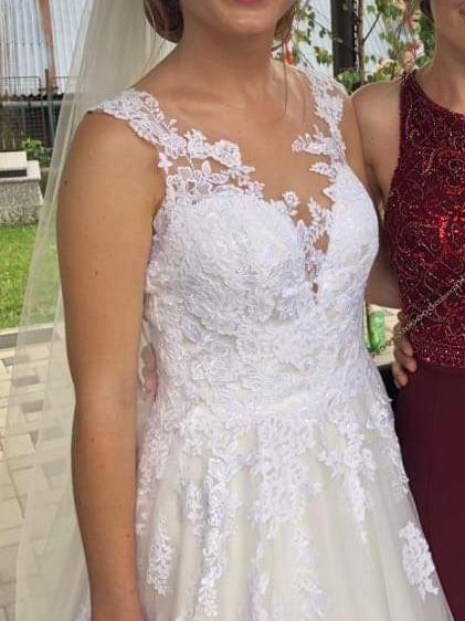 Svadobné šaty ivory - Obrázok č. 1