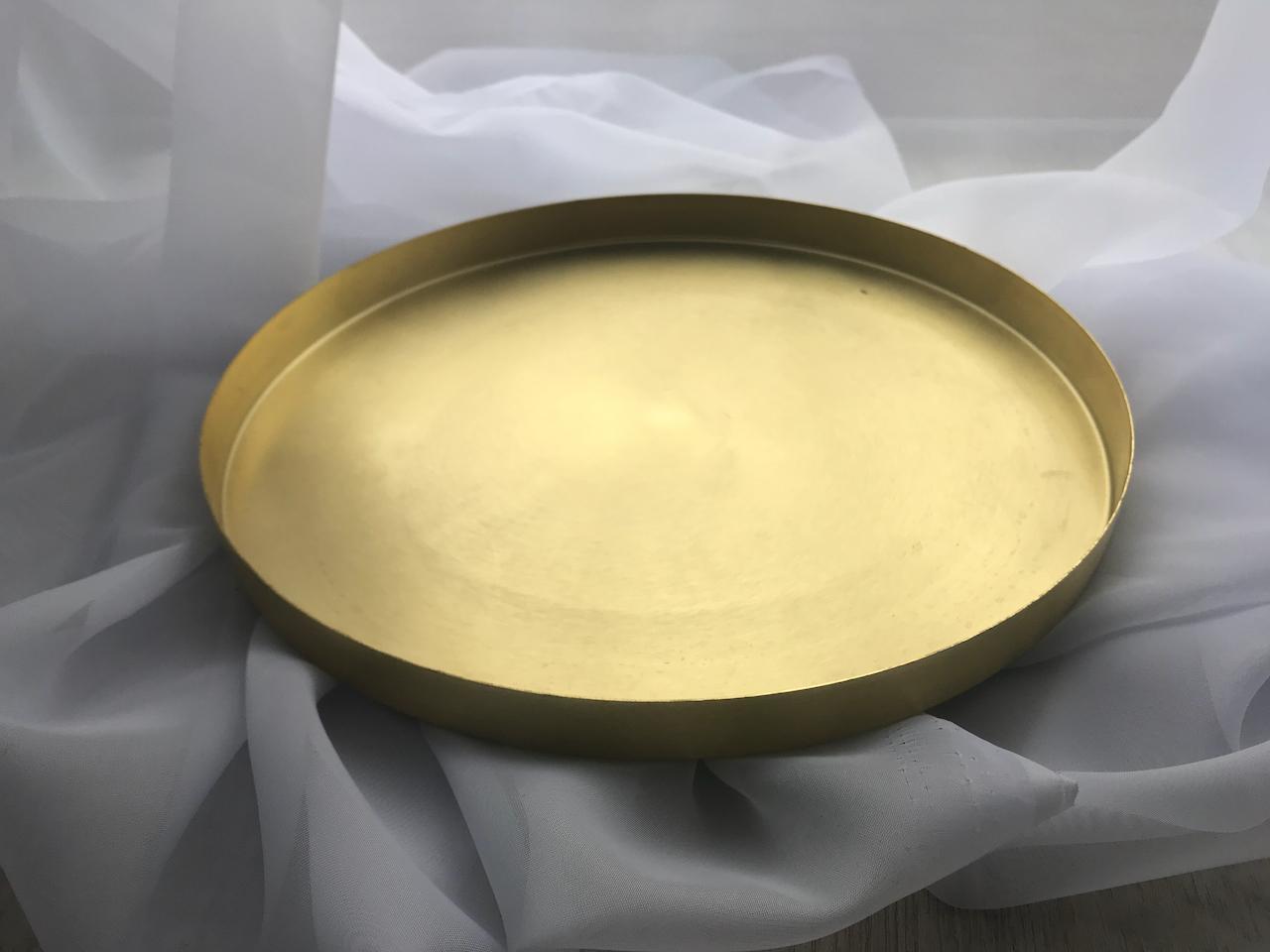 Zlata tacka - 30cm - Obrázok č. 1
