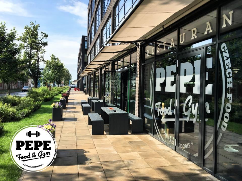 pepefood - Exteriér restaurace PEPE Food & Gym