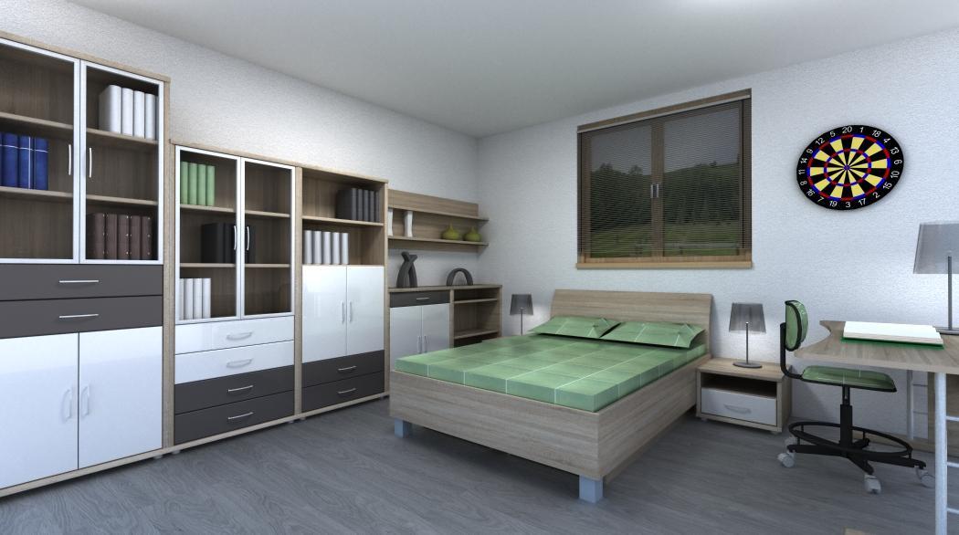 Detské/ študentské izby - Študentská izba Srdce domova / Point