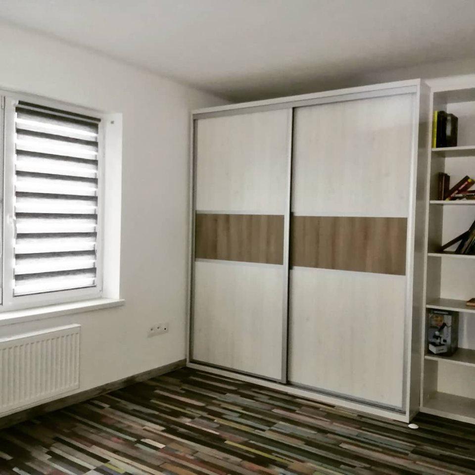 Detské/ študentské izby - Študentská izba Srdce domova / skriňa na mieru