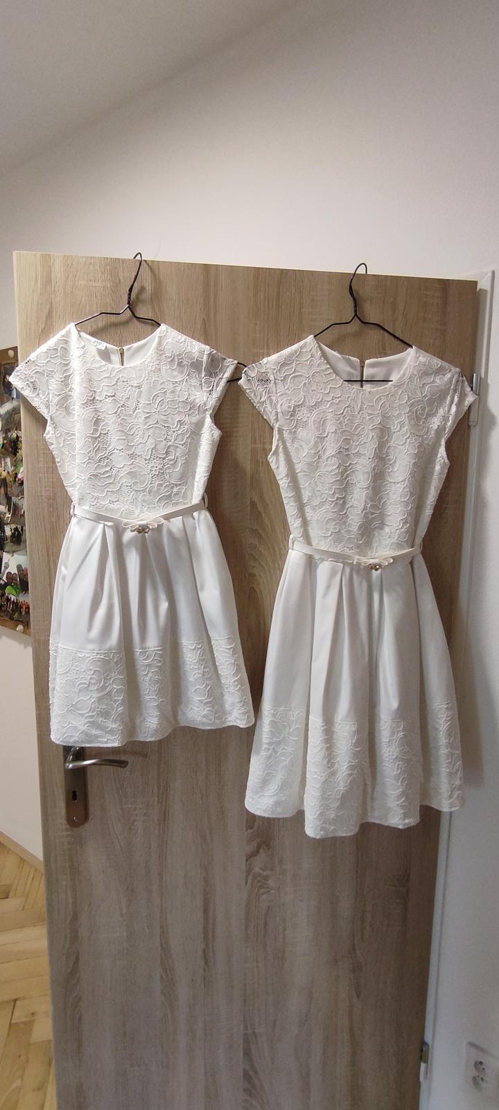 Dětské / dívčí šaty na svatbu - Obrázek č. 1