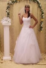 moje možná možná budoucí šatíčky jen na 156 cm velké nevěstě