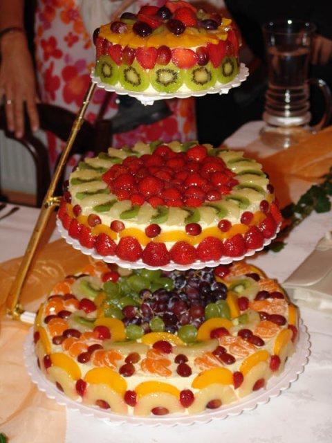 Predstavy a sny - svadobna torta...