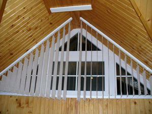 okno v bývalej detskej a budúcej spálni