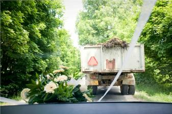 cesta na svatební hostinu :-)