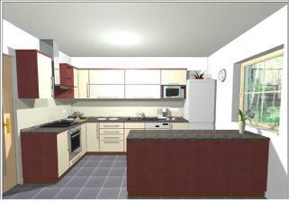 kuchyně Lamont