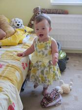 Vysledok nasej lasky: uz 1,5 rocna Simonka :-)