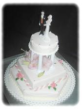 Náš svatební dort...