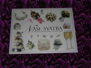 Kniha - Naše svatba