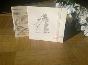 Nase svadobne oznamenie s brozurkou pre zahranicnych hosti :)