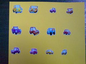 rozpis autíček:-)