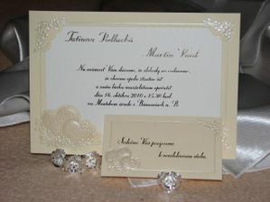 Naše svadobné oznámenia...už sa to pomaličky blíži!:D