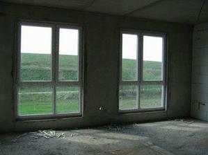 duben - už máme okna