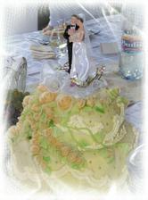 svadobná tortička pre nevestu