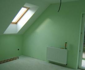 júl 2008 - a maľujeme - spáľňa zelená