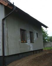 zateplený dom a upravený terén