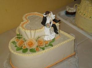 takúto tortu sme dali spraviť bratrancovi na svadbu