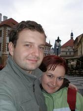 ...svadobná cesta v Prahe...