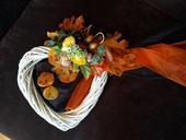 Svatebni dekorace podzimni,