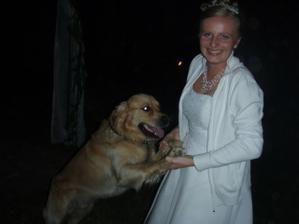 Goldýsek si taky zatancoval s nevěstou :-)