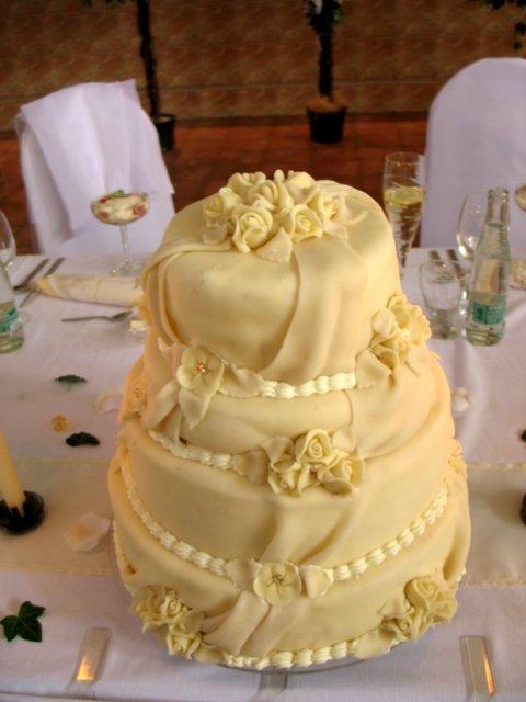 Martina{{_AND_}}Ladislav - svadobná tortička