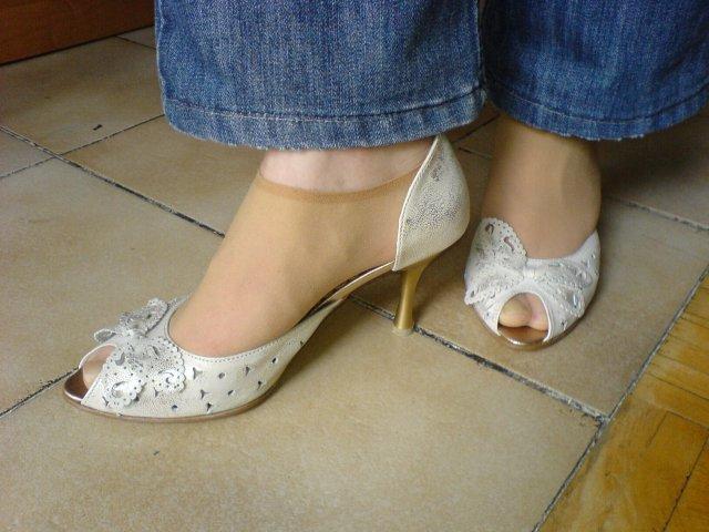 Myrušiatko - svadobné topánočky