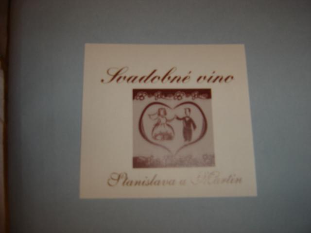 Naše prípravy - lepka na víno detailnejšie