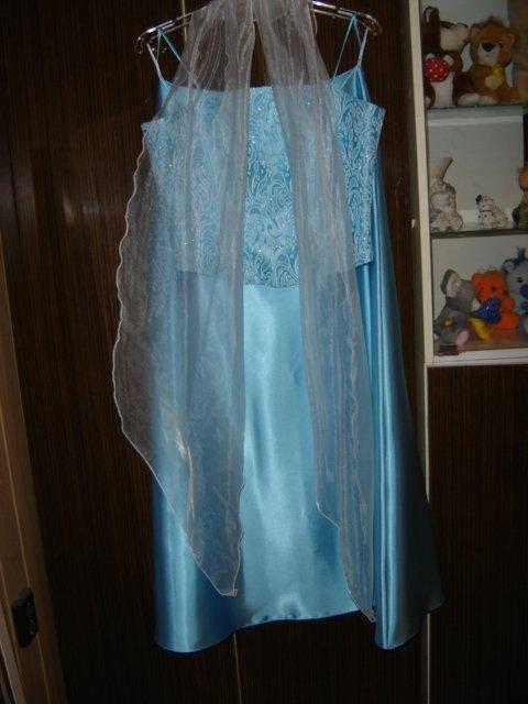 Naše prípravy - popolnočné šaty mali byť ružové nuž čo už