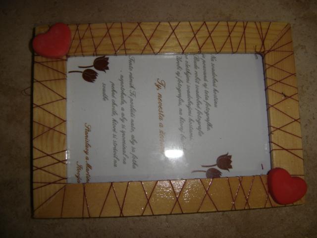 Naše prípravy - darčeky pre hostí na hostine sa spravia spoločné fotky ženich nevesta a hosť a to sa im potom bude posielať do rámčeka na pamiatku