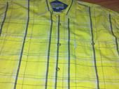 Nenosená športovo elegantná značková košeľa č43/44, XL