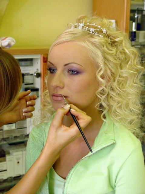 My :-) Lucka+Janik - Takýto make-up sa mi veľmi páči.