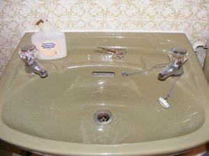 ...tak i v kúpeľni...