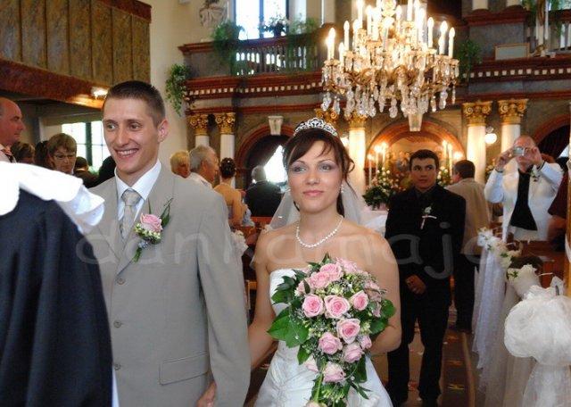 Daniela Kusendová{{_AND_}}Marián Kotúč - Šťastní novomanželia