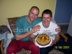 Torta od našich družbov :o)