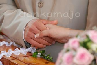 Pri sľube (milujem takéto fotky)