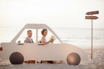 Svatební dar? Nové auto...