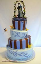 crazy wedding cake :-)
