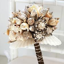 netradiční svatební kytice